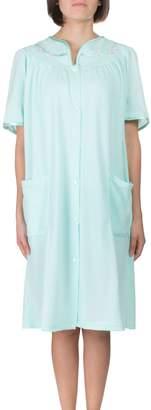 Jasmine Rose Jacquard Blister Robe