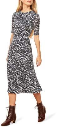 Reformation Prima Midi A-Line Dress