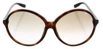 Tom Ford Rhonda Tortoiseshell Sunglasses