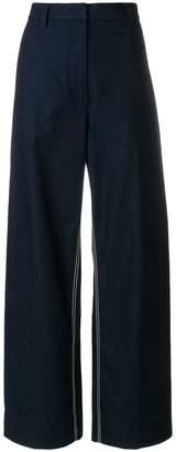 Cédric Charlier wide-leg jeans
