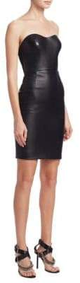 Alexander Wang Leather Mini Dress