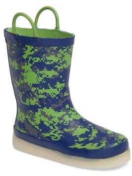Western Chief Digital Camo LED Rain Boot