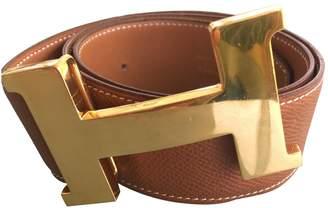Hermes Boucle H leather belt
