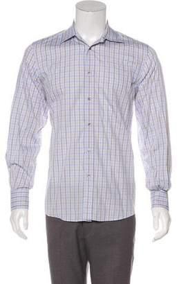 Gucci Plaid Dress Shirt