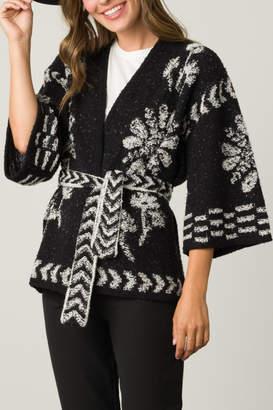 O'Leary Margaret Jacquard Kimono
