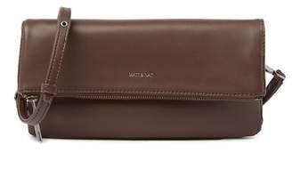 Matt & Nat Alaya Foldover Vegan Leather Crossbody Clutch Bag