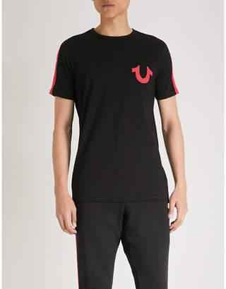 True Religion Logo-print cotton-jersey T-shirt