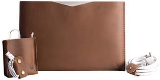 Capra Leather Basic Macbook Pro Retina Leather Sleeve Set