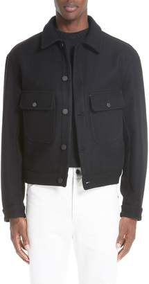 Lemaire Felted Wool Utility Jacket