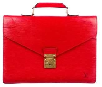 Louis Vuitton Epi Robusto 2 Compartment Briefcase
