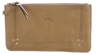 Jerome Dreyfuss Grained Leather Pouch