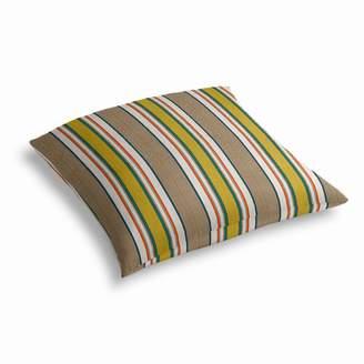 Loom Decor Simple Outdoor Floor Pillow Sunbrella® Token - Caribbean