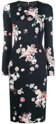 Dolce & Gabbana longsleeved midi dress