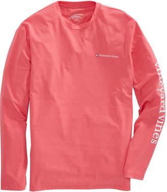Vineyard Vines Long-Sleeve Heathered Performance T-Shirt