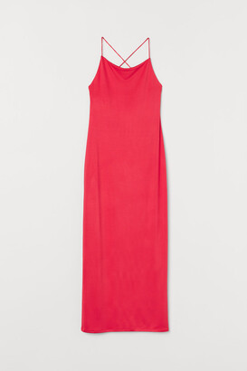 H&M Low-backed Dress - Red