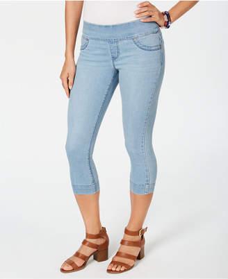 Style&Co. Style & Co Petite Ella Pull-On Capri Jeans