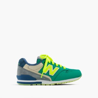 Kids' New Balance® for crewcuts glow-in-the-dark 996 lace-up sneakers $65 thestylecure.com
