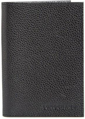 Longchamp Leather Passport Case
