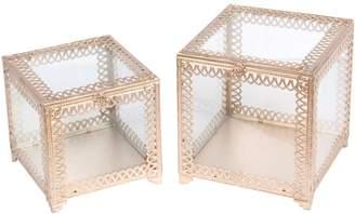 Privilege Square Boxes (Set of 2)