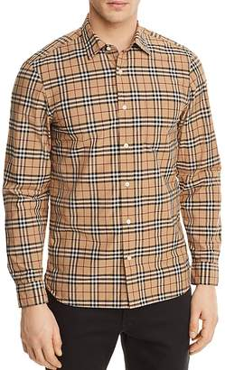 Burberry Alexander Plaid Button-Down Shirt