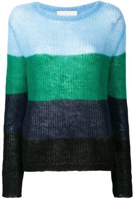 Chiara Bertani loose knit jumper