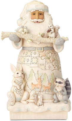 Jim Shore Woodland Santa Figurine