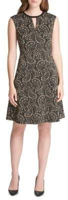 Tommy Hilfiger Paisley Fit--Flare Dress