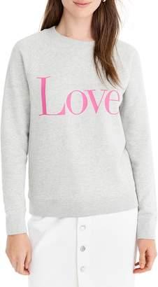 J.Crew Love Sweatshirt