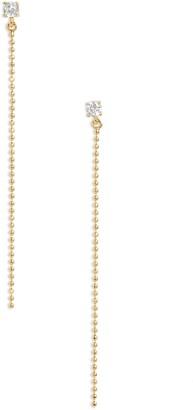 Nordstrom Ball Chain Linear Earrings