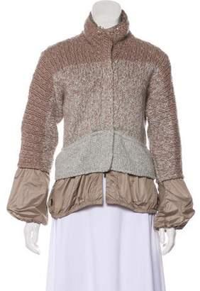 Brunello Cucinelli Sequin-Accented Cashmere Jacket