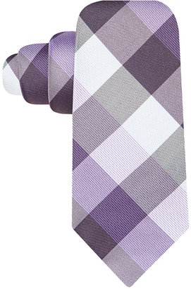 Ryan Seacrest Distinction Weho Check Slim Tie $59.50 thestylecure.com