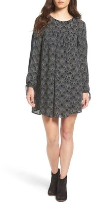 Roxy 'Definitely Maybe' Print Swing Dress $49.50 thestylecure.com