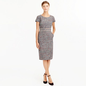 Shift dress in multicolored tweed $158 thestylecure.com