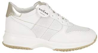 Hogan Athletic Canvas Sneakers