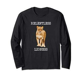 RELENTLESS LIONESS / Workout LS T-Shirt Gift for a Woman