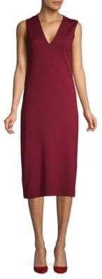 Lafayette 148 New York Cashmere & Silk Shift Dress