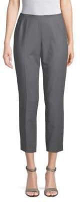 Lafayette 148 New York Stanton Stretch Cotton Cropped Pants