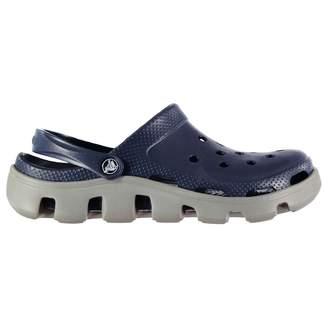 Crocs Mens Duet Clogs Cloggs Slip On Adjustable Heel Strap Lightweight