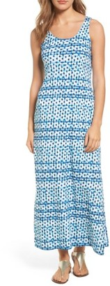 Women's Tommy Bahama Dot Matrix Cotton Maxi Dress $118 thestylecure.com