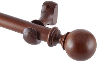JCP HOME Ball Wood 4ft. Curtain Pole Set