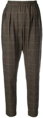 MAISON KITSUNÉ elasticated waist trousers