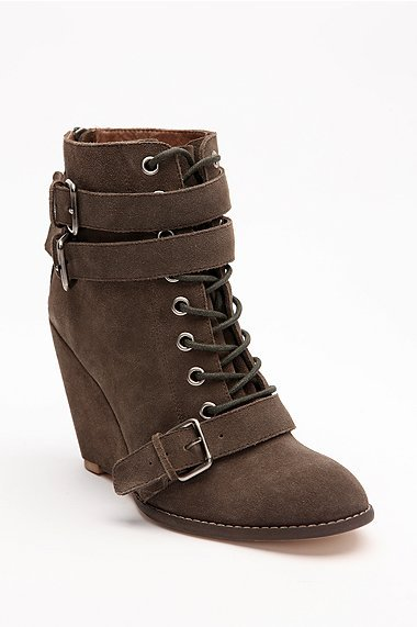 Colonial Madness by LD Tuttle Laced Wedge Boot