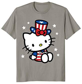 Hello Kitty American 4th of July Tee Shirt
