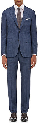 Canali CANALI MEN'S FINE-STRIPED SUPER 150S WOOL TWO-BUTTON SUIT $2,250 thestylecure.com