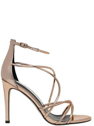 Harriet Rose Gold Leather Sandal