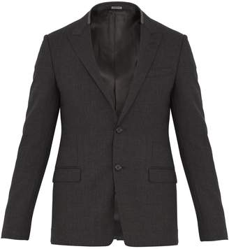 Lanvin Peak-lapel wool-blend blazer