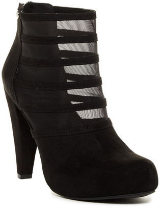 G by GUESS Talza Mesh Boot $69 thestylecure.com