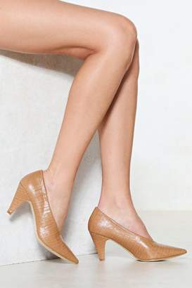 Nasty Gal The Perfect Match Court Heel