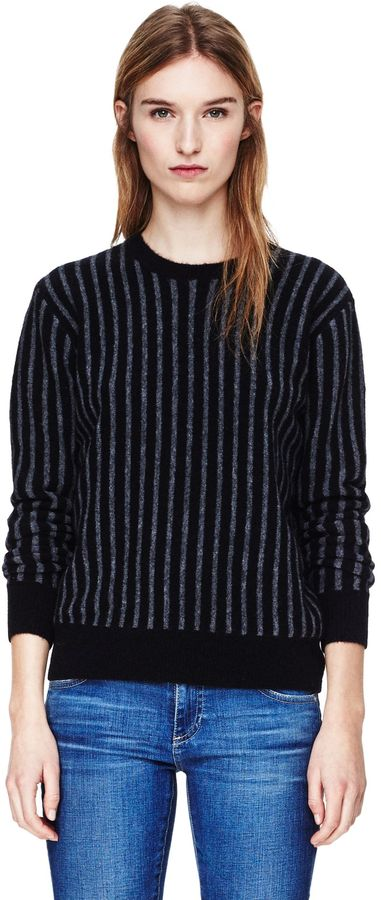 Theory Jaidyn SV Sweater in Avalon Wool Blend