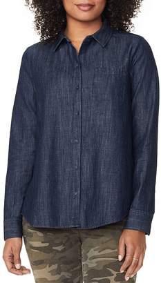 NYDJ Chambray A-Line City Shirt